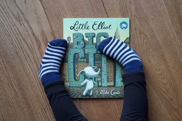 Little Elliot, Big City - a book about being small, but not helpless