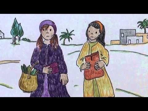 L'histoire de Pâques (pour enfants) dessinée et racontée par Martine Bacher. Extrait de la Bible.