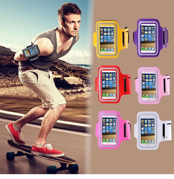 nice Waterproof Sports Running Armband Leather Case For iphone 5 5S Mobile Phone Holder Pounch Belt GYM Fashion Cover For iphone 5
