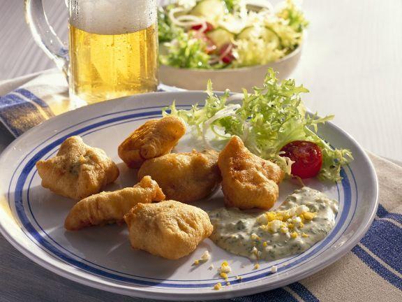 Frittierter Fisch ist ein Rezept mit frischen Zutaten aus der Kategorie Ausbackteig. Probieren Sie dieses und weitere Rezepte von EAT SMARTER!