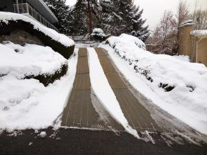 Steep Driveway Solutions Snow Melting And Heated