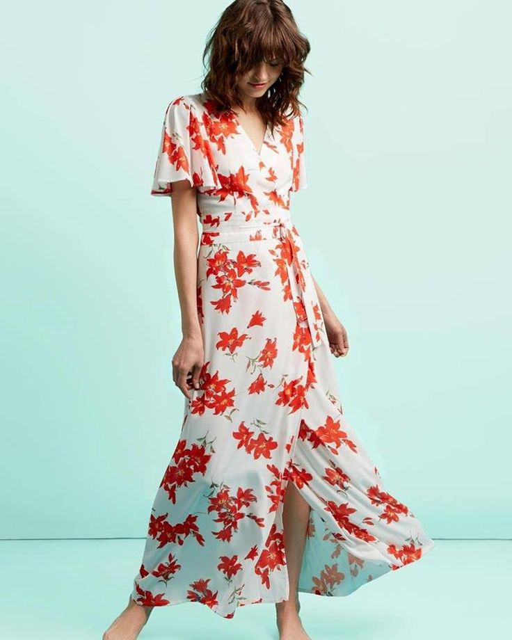 Never fully Dressed Floral Maxi