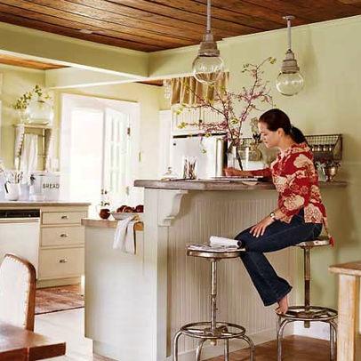 Kitchen Islands That Attach To Ceiling
