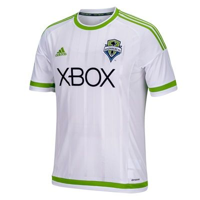 Sports Licensed Division of the adidas Group LLC Seattle Sounders Away Shirt 2015-16 - Womens Seattle Sounders Away Shirt 2015-16 - WomensGear up for the Major League Soccer season and pledge your allegiance to Washington™s 2007 MLS expansion team with the official Seattle Sounders Away Shirt http://www.MightGet.com/february-2017-2/sports-licensed-division-of-the-adidas-group-llc-seattle-sounders-away-shirt-2015-16--womens.asp