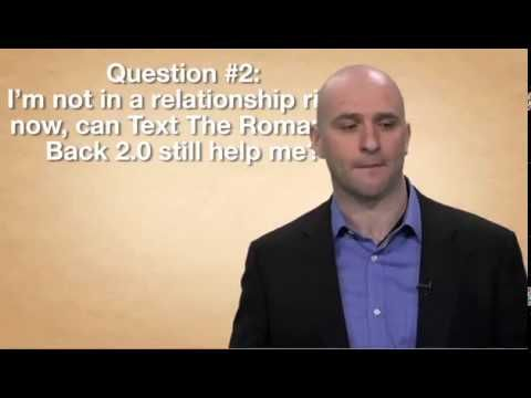 Text The Romance Back - Transform Your Man Into Prince Charming