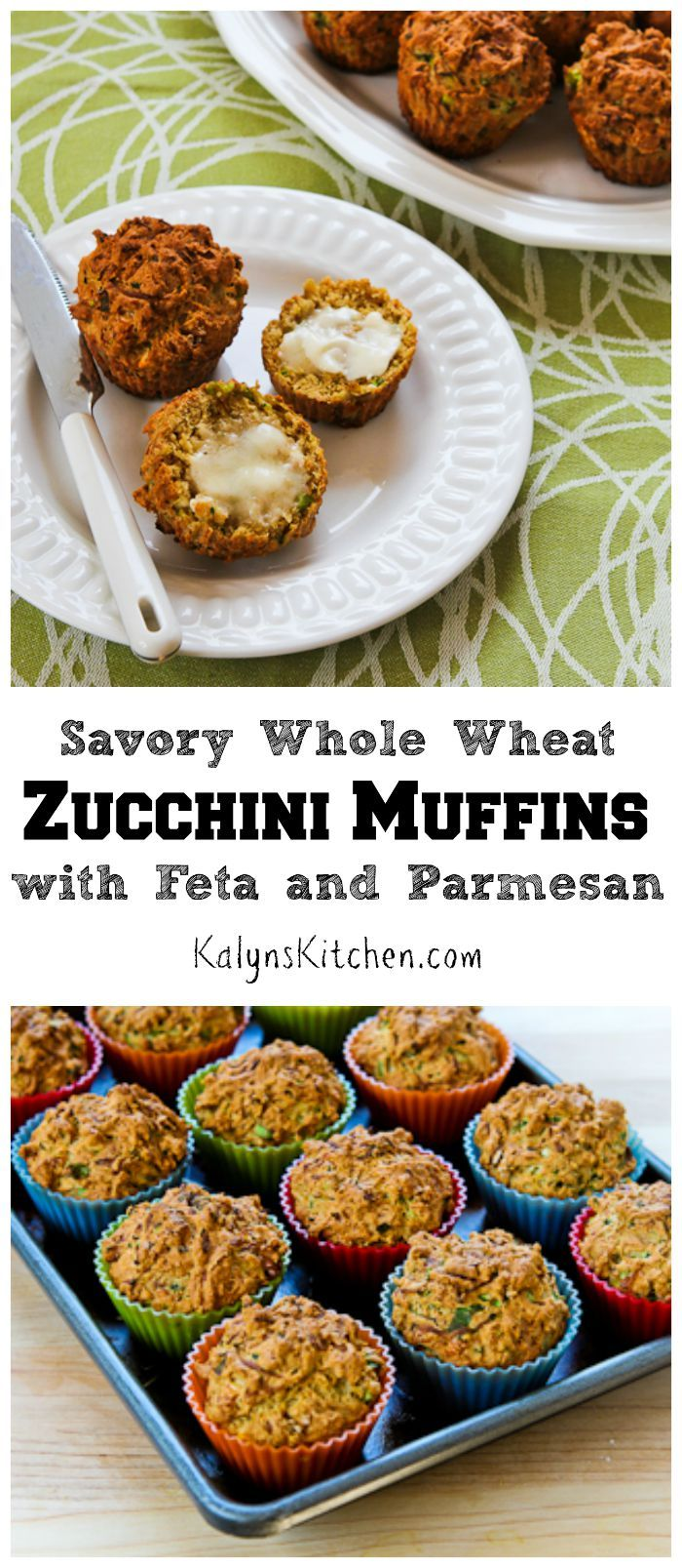 zucchini muffins feta and zucchini on pinterest