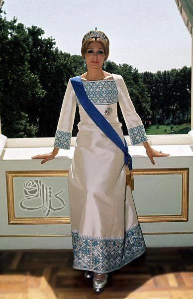Farah Diba Pahlavi(Empress of Iran  -26 October 1967 – 11 February 1979)