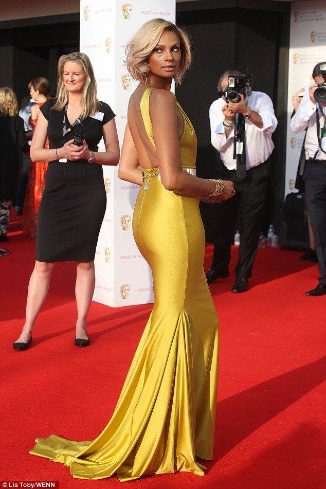 BAFTA TV awards red carpet sees Alesha Dixon turn heads in yellow gown | Daily Mail Online