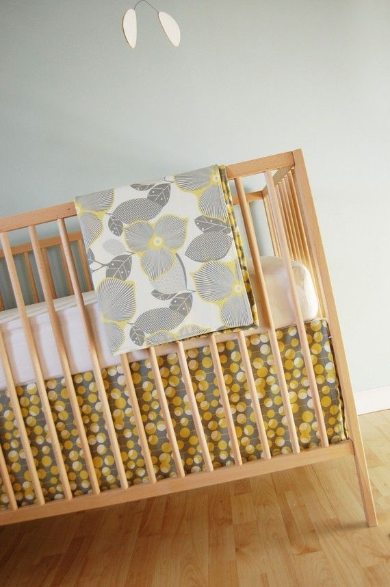 Love this coordinating Amy Butler fabric for custom crib bedding - bumper pads, sheets and duvet. Love Love Love It!
