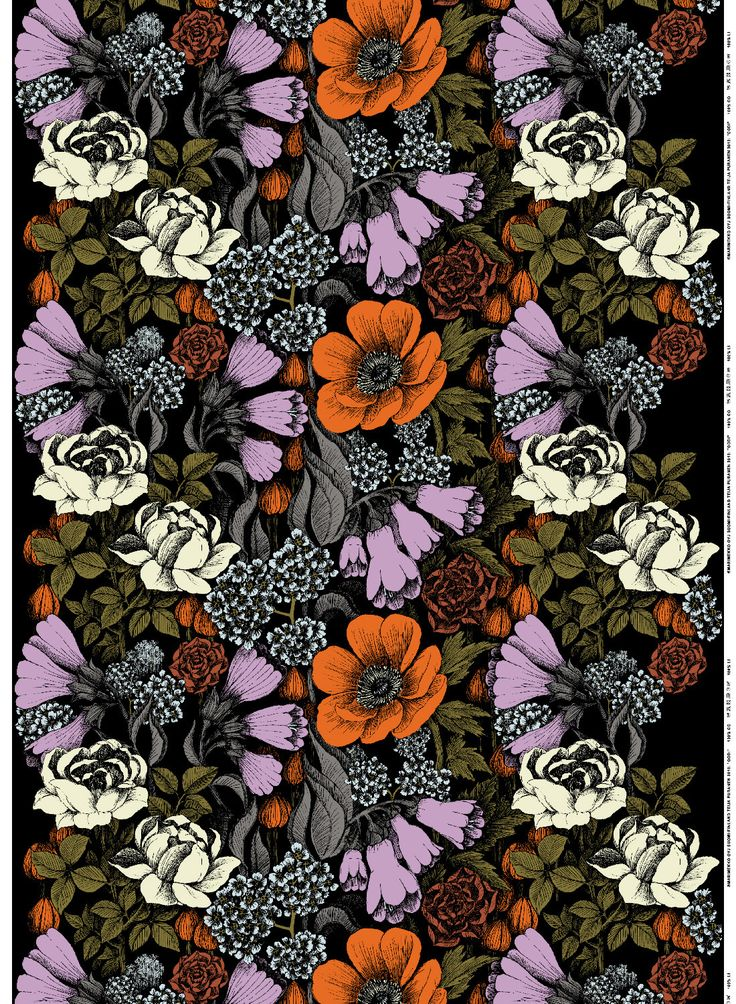 Oodi | Marimekko 2013 | Pattern Design Teija Puranen