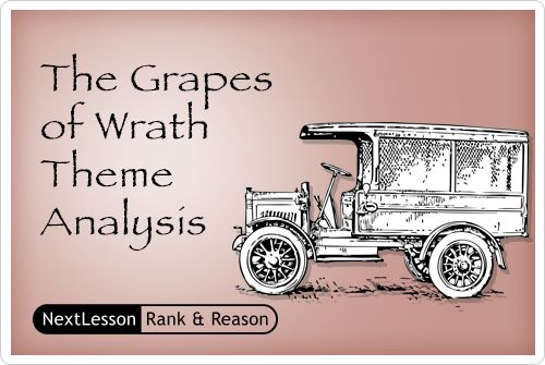 analysis of steinbeck s grapes of wrath The grapes of wrath, published in 1939 and considered by many to be john steinbeck's crowning literary achievement, is a powerful and evocative examination of.