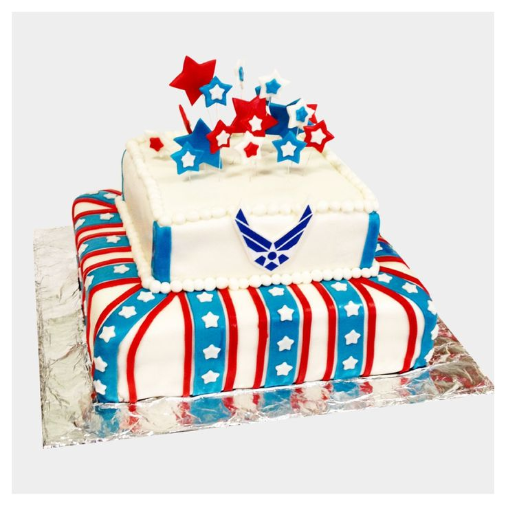 Air force cake i am an airman pinterest air force for Air force cakes decoration