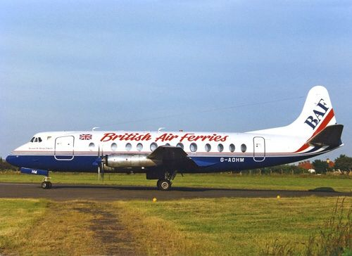 G-AOHM Vickers Viscount 802 British Air Ferries