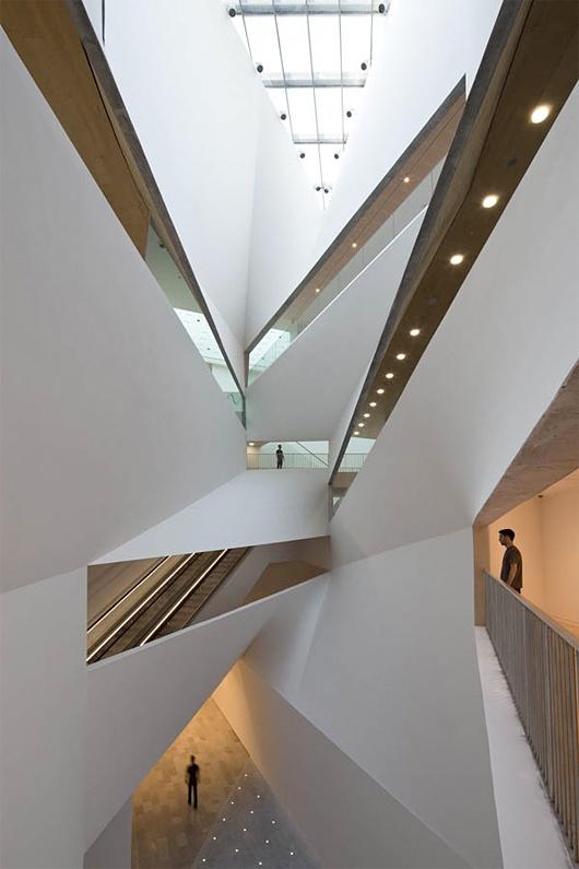 The Herta and Amir Building by Preston Scott Cohen