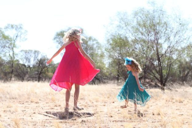 Jeanie OCD My girl collection. Twirling girls. #pretty #fashion #girls dress