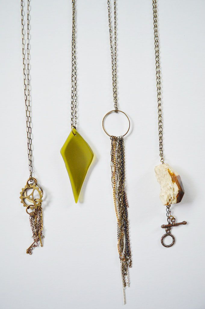Oh Lovely Bows: Maker of the Month - Alison Denham Jewelry