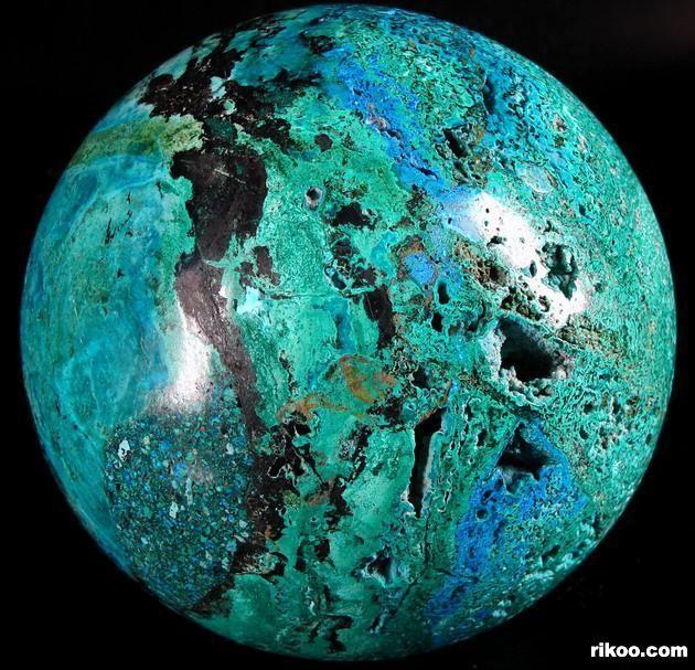 Turquoise Crystal Ball