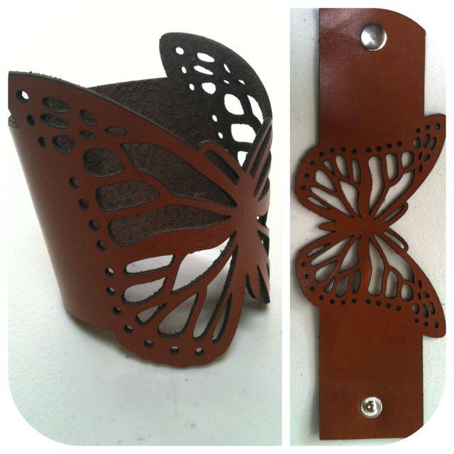 My EmilydeMolly Leather Butterfly Cuff  https://www.facebook.com/EmilydeMolly