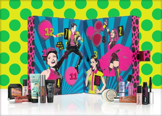 Benefit Cosmetics - party poppers makeup set #benefitbeauty