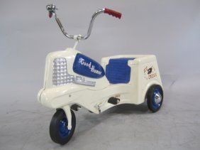 1955 Murray 'Good Humor Ice Cream' truck pedal car. Had one then. Want one now.