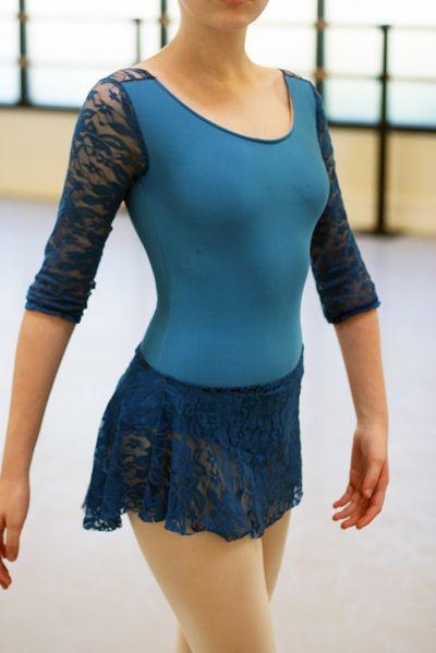 sewing ballet leotards