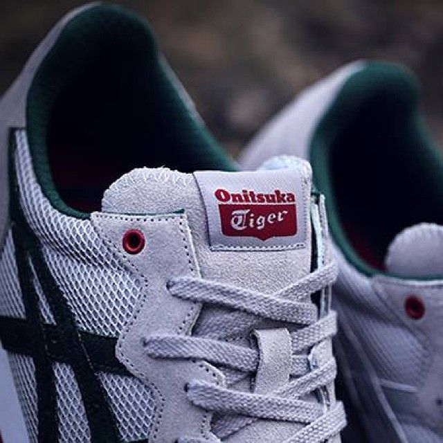 The #OnitsukaTiger x @Jo Heywood #SilverKnight X-CALIBER shoe will be  available