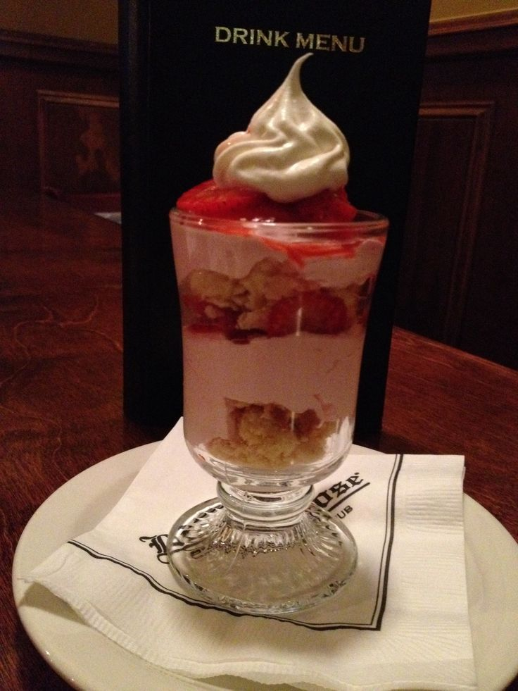 Strawberry Shortcake Trifle. This trifle is created by layering pound ...