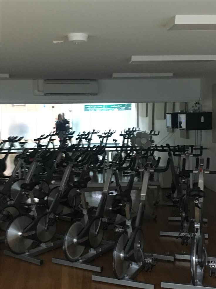 Physical Environment: facilities. Having access to equipment such as stationary bikes encourages people to engage in PA during lunchtimes, before or after school.