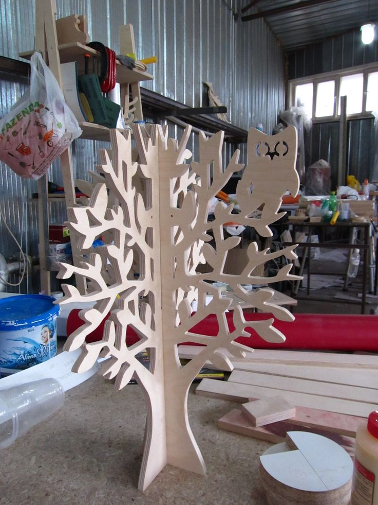 Plywood Tree Idea Diy Pinterest Trees And Plywood