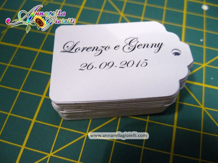 32 pezzi, Cartellini per bomboniera, bomboniere, multicolor, etichette,matrimonio, battesimo, comunione, cresima di annarellagioielli su Etsy