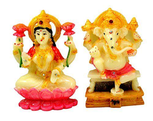 Indian Hand Carved God & Goddess Laxmi Ganesha Resin Idol Sculpture Statue 3.5 Inches Krishna Mart India http://www.amazon.com/dp/B016THDLRQ/ref=cm_sw_r_pi_dp_m4.xwb1906FZV