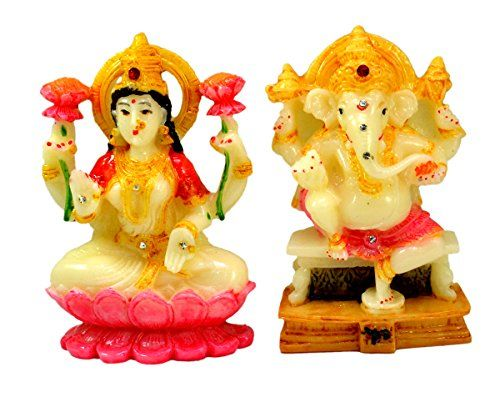 Indian Hand Carved God & Goddess Laxmi Ganesha Resin Idol Sculpture Statue 3.5 Inches Krishna Mart India http://www.amazon.com/dp/B016THDLRQ/ref=cm_sw_r_pi_dp_m4.xwb1906FZV