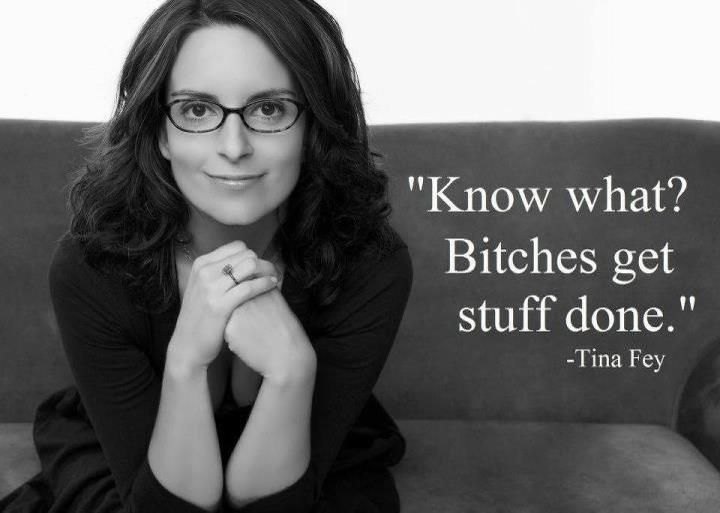 Tina Fey.  But really.