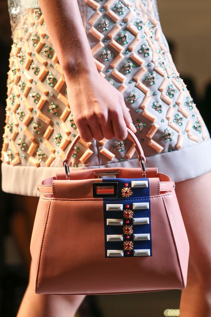 Fendi spring summer 2015 runway bag collection spotted fashion - Fendi Spring 2015 Ready To Wear Fashion Show Details