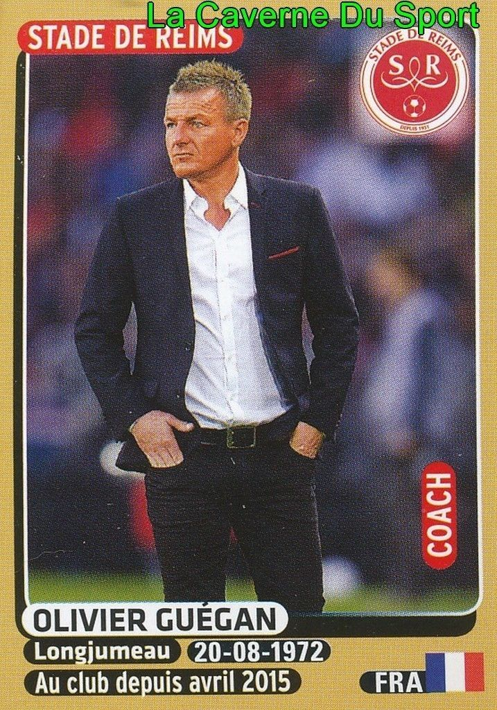 366 OLIVIER GUEGAN # STADE REIMS STICKER PANINI FOOT 2016 in Collections, Vignettes, albums, Football   eBay