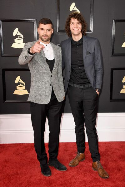 for King and Country 2/12/17 GRAMMY Awards, Microsoft Theater in Los Angeles, California. #forkingandcountry #joelsmallbone #lukesmallbone