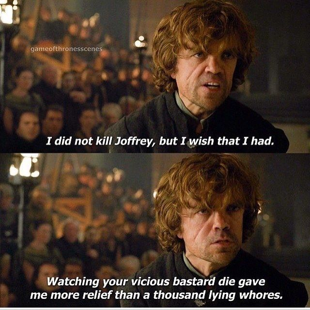 Tyrion. Game of Thrones