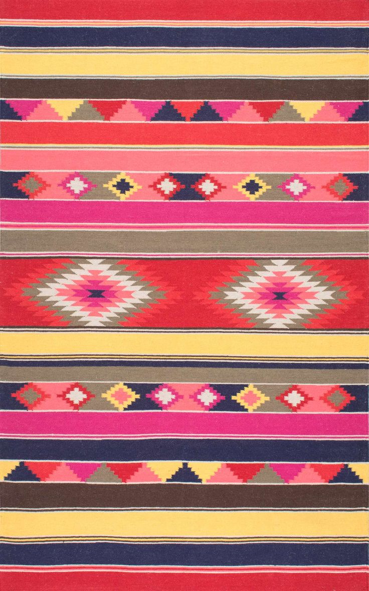 Get Inspired With This Rugs USA Wichita Flatweave Wool Tribal Kilim Rug! U2013  Home Decor Ideas