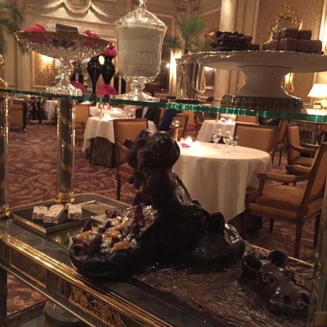 Michelin Star Dining Event: Le Cinq Paris: Sweet Cart