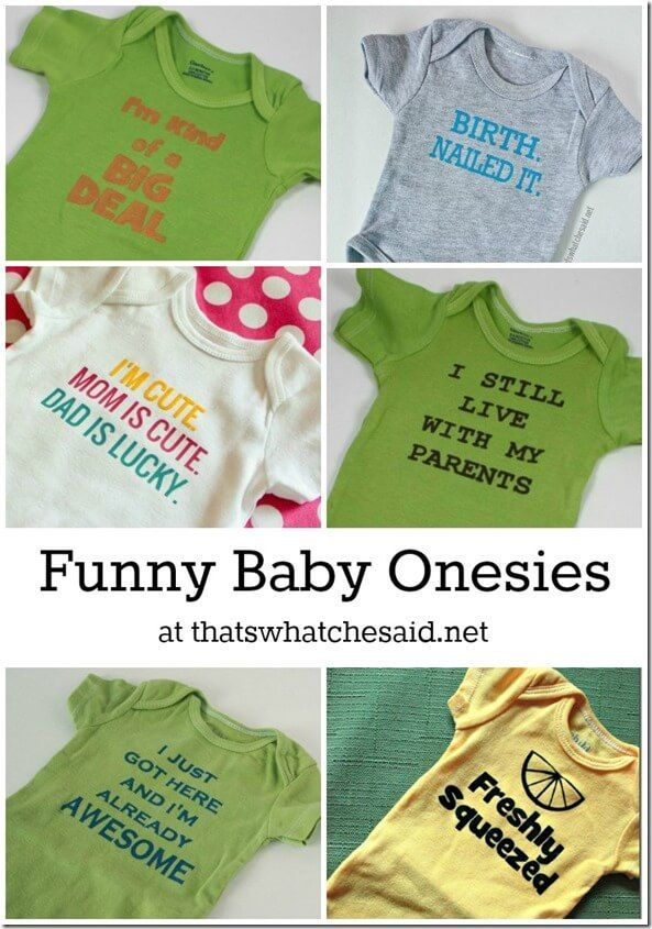 Funny Saying Onesies Adorable Baby Gifts, Baby Shower, New Baby Presents