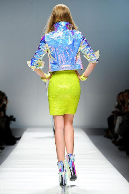 hologram jacket, I need you like I needed secret garden barbie when I was 9.