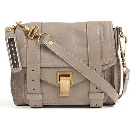 PROENZA SCHOULER - PS1 cross-body leather bag | Selfridges.com