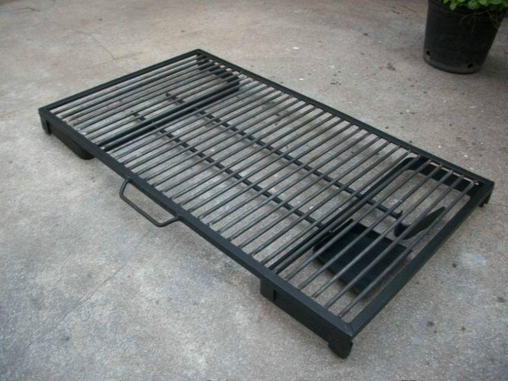 Parrilla plegable port til de 40x70 cm con pala y for Albercas desarmables