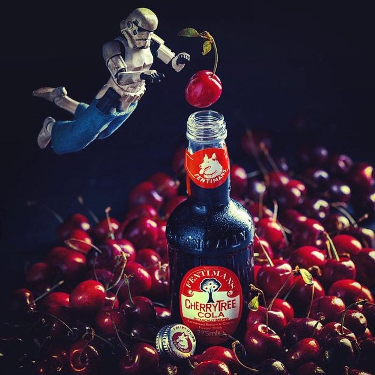 Can we get any more cherries in?!