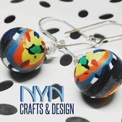 La base d'aquestes boletes és el blau #denim que enmarca una varietat de colors vibrants com el groc, el taronja... ___________________________________________ #imagine #creative #creatividad #arrecades #pendientes #earrings #crafts #artesania #handmadejewelry #fetama #hechoamano #fashion #fashionista #moda #complements #complementos #ball #catalunya #unique #piezasunicas #pecesuniques #design #disseny #diseño #minimalism #lleida #modern #casual #blue