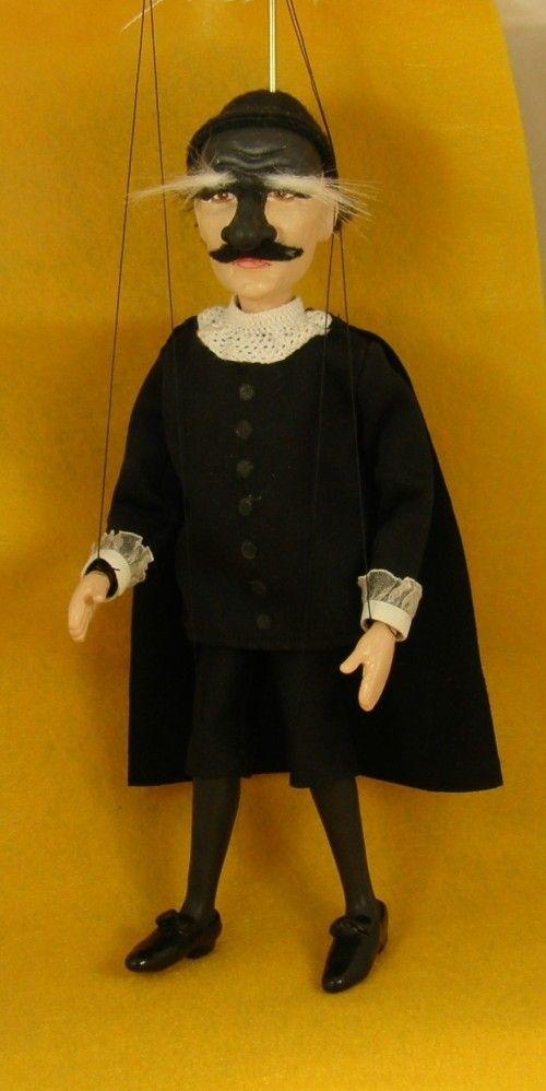 marionette Commedia dell'arte  Il Dottore  the by AMCreatures,