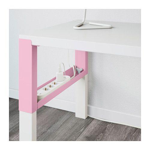 ПОЛЬ Письменный стол - белый/розовый - IKEA