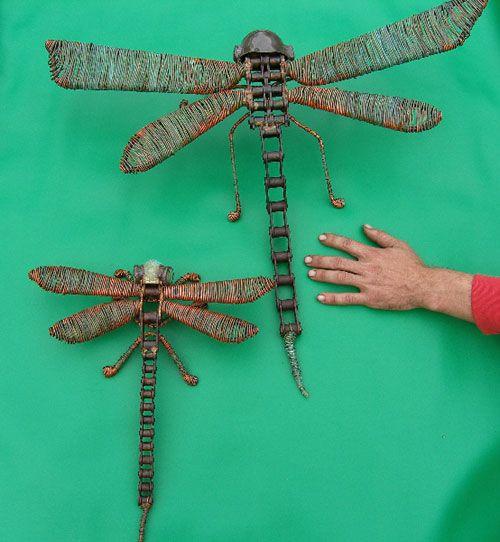 Dragonfly Drawings | Jangling Jack, Recycled Australian Metal Art