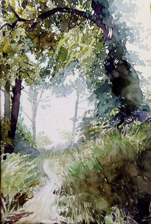 Oleg KOZAK watercolor: WATERCOLOR 6
