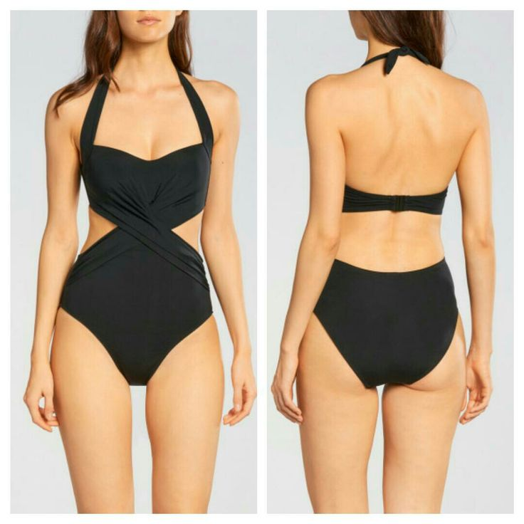 JETS BY JESSIKA ALLEN ILLUMINATE CUT OUT CROSS FRONT ONE PIECE